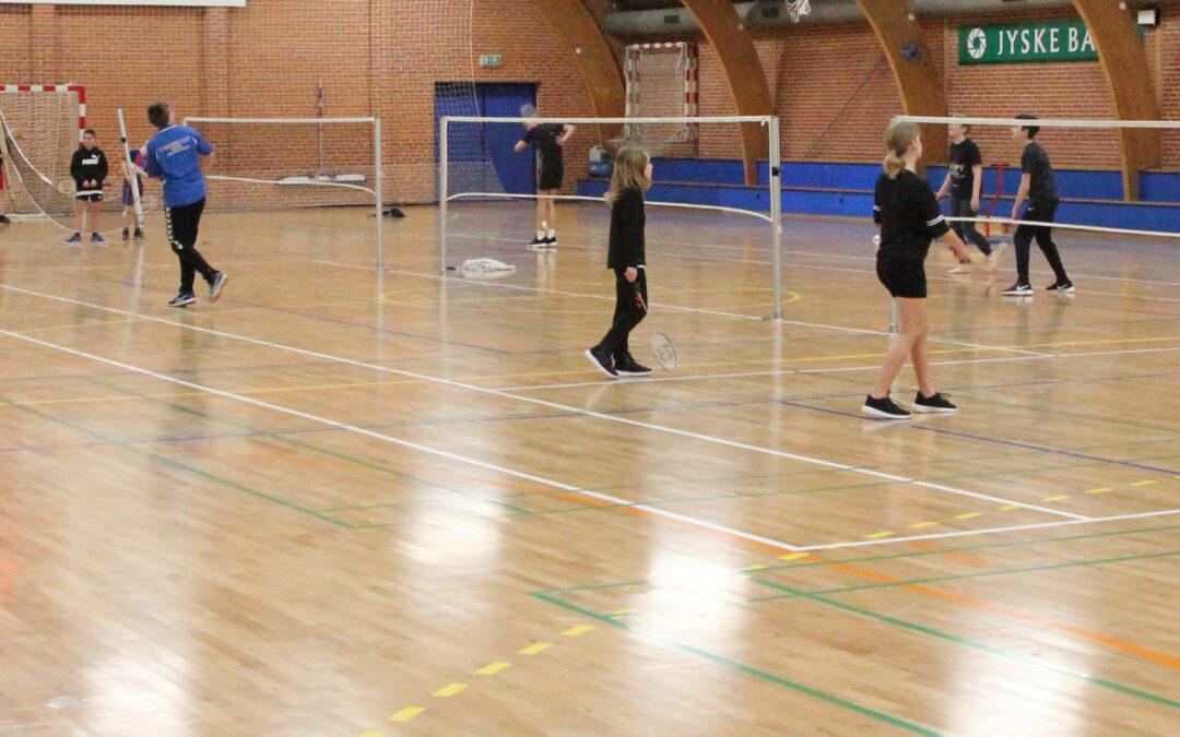 Badminton opstart for børn og unge